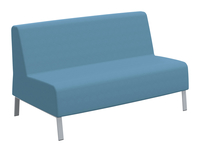 Classroom Select Soft Seating Armless Sofa, 58 x 32 x 34 Inches, Various Options Item Number 1605247