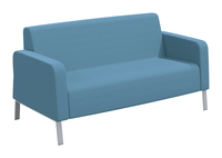 Classroom Select NeoLink Soft Seating Armed Sofa, 66 x 32 x 34 Inches, Various Options Item Number 1605249