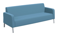 Classroom Select NeoLink Soft Seating Armed Sofa, 86 x 32 x 34 Inches, Various Options Item Number 1605250