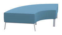 Classroom Select Soft Seating 90 Degree Bench, 71 x 32 x 18 Inches, Various Options Item Number 1605253