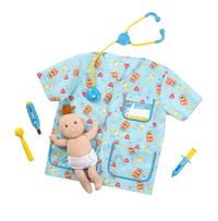 Melissa & Doug Pediatric Nurse Costume Set, 7 Pieces Item Number 1609437