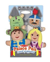 Melissa & Doug Palace Pals Hand Puppets, Set of 4 Item Number 1609469
