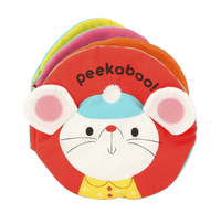 Melissa & Doug Peekaboo Soft Activity Baby Book Item Number 1609495