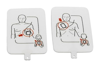 Image for Prestan UltraTrainer AED Trainer Electordes, Adult/Pediatric, Each from School Specialty