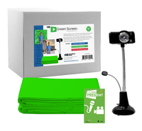 Image for HamiltonBuhl STEAM Education Green Screen Production Kit from SSIB2BStore