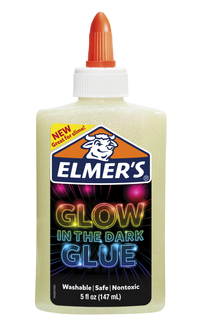 Elmer's Glow in the Dark Glue, 5 Fluid Ounces, Natural Item Number 2001191