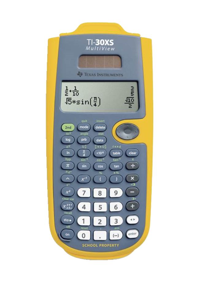 Texas Instruments Ti 30xs Multiview Scientific Calculator Yellow Ez Spot Set Of 10