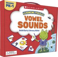 Scholastic Learning Puzzles: Vowels Sounds, Grades PreK-1 Item Number 2002262