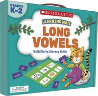 Scholastic Learning Mats: Long Vowels, Gr K-2 Item Number 2002265