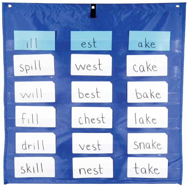 Teacher, Classroom Pocket Charts Supplies, Item Number 200262