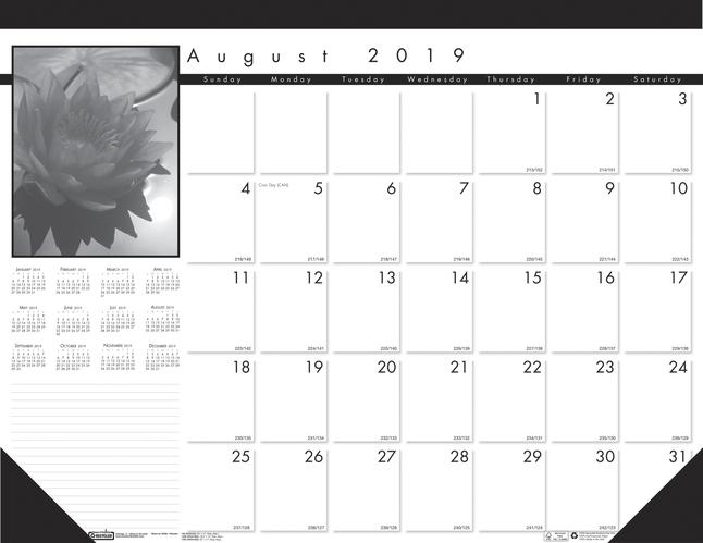 Calendars, Item Number 2002631