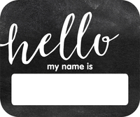 Name Tags and Name Plates, Item Number 2002832