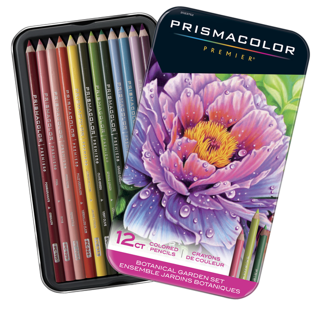 Prismacolor Premier Colored Pencils, Botanical Garden, Set of 12