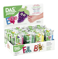 DAS Junior Air-Hardening Modeling Clay, Assorted Colors, Set of 24 Item Number 2003312