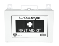 Image for School Smart First Aid Kit, 25 Person, Metal from SSIB2BStore