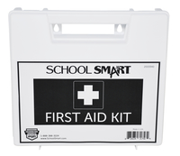 Image for School Smart First Aid Kit, 25 Person, Plastic from SSIB2BStore