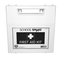 Image for School Smart First Aid Kit, 50 Person, Plastic from SSIB2BStore