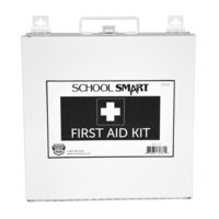 Image for School Smart First Aid Kit, 50 Person, Metal from SSIB2BStore
