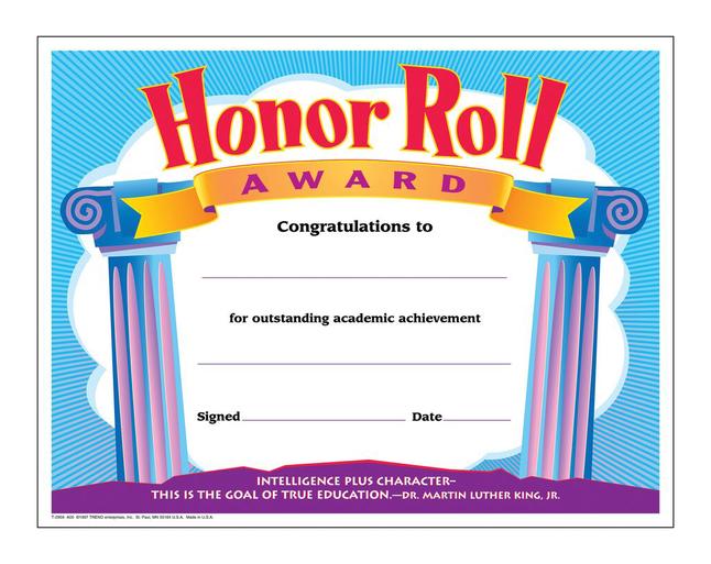 Award Certificates, Item Number 2003457