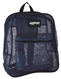 Image for Mesh Backpack, Navy, 17 x 14 x 6-1/2 Inches from SSIB2BStore