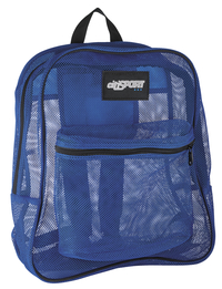 Image for Mesh Backpack, Royal, 17 x 14 x 6-1/2 Inches from SSIB2BStore