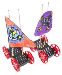 TeacherGeek Sail Car, Single Item Number 2004028