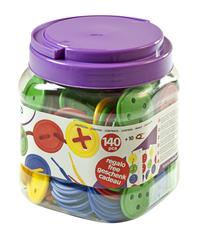 Miniland Lacing Button Activity Set, 140 Pieces Item Number 2004770