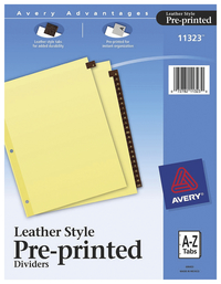 Index Dividers, Item Number 2006203