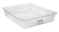 Shirley K's Storage Tray, 21 x 19 x 4-1/2 Inches, Clear Item Number 2006629