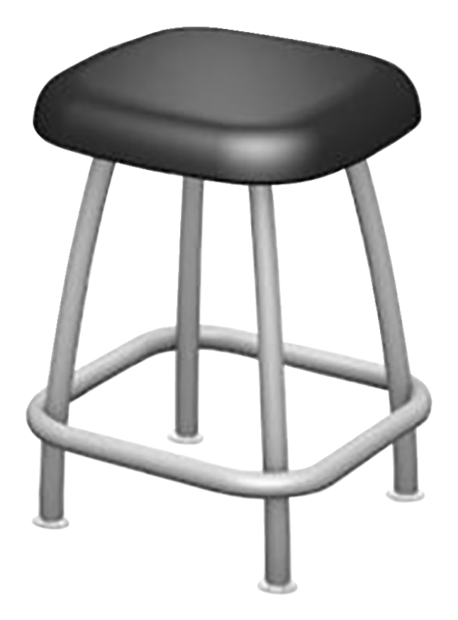 Outstanding Fleetwood Rock Active Seating Stool 18 Inch High Caraccident5 Cool Chair Designs And Ideas Caraccident5Info