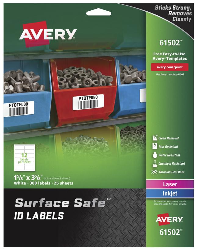 General Labels, Item Number 2007756