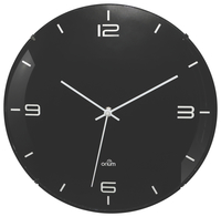 Image for CEP Orium Eleganta Wall Clock, Quartz, 11-1/2 W x 2-1/5 L x 11-1/2 H Inches, Black from SSIB2BStore