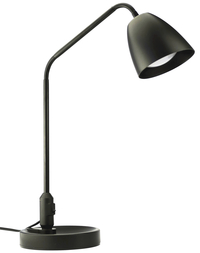 Image for Lorell LED Desk Lamp, 7-Watt, 20-9/10 inches, Black from School Specialty