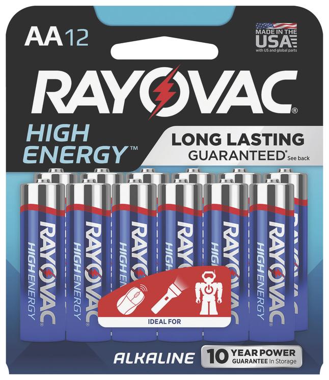 AA Batteries, Item Number 2009791
