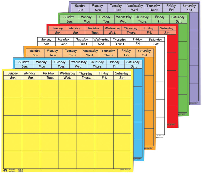 Daily Planner and Calendars, Item Number 201000