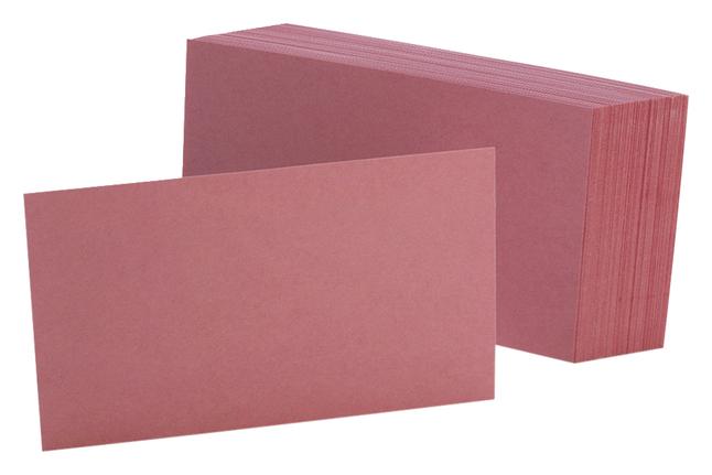 3x5 Blank Index Cards, Item Number 2010315