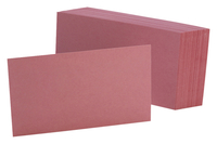3x5 Blank Index Cards, Item Number 2010315