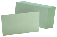 3x5 Blank Index Cards, Item Number 2010316