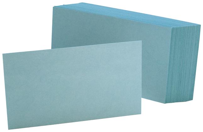 3x5 Blank Index Cards, Item Number 2010317