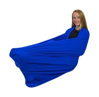 Abilitations Snuggle Wrap, 60 x 30 Inches, Blue Item Number 2010453