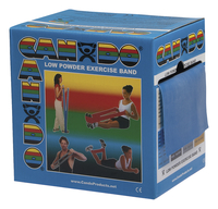 Image for CanDo Exercise Band, Heavy Band, 50 Yards, Blue from School Specialty