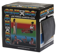 Image for CanDo Exercise Band, Extra Heavy Band, 50 Yards, Black from School Specialty