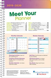 Student Planners, Item Number 2011023