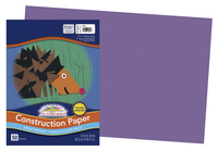 SunWorks Heavyweight Construction Paper, 12 x 18 Inches, Violet, 50 Sheets Item Number 201200