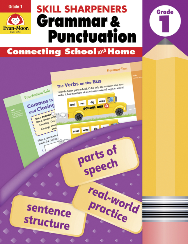 Image for Grammar & Punctuation Gr. 1 from School Specialty