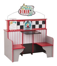 Image for Melissa & Doug Star Diner Restaurant, 35 x 43-1/2 x 23 Inches from School Specialty