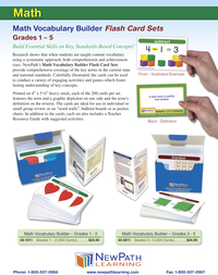 Math Manipulatives, Item Number 2013665