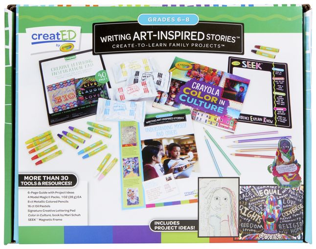 Crayola creatED Family Engagement Kit, Writing Art-Inspired Stories, Grade  6 to 8