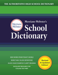 Image for Merriam-Webster's School Dictionary from School Specialty