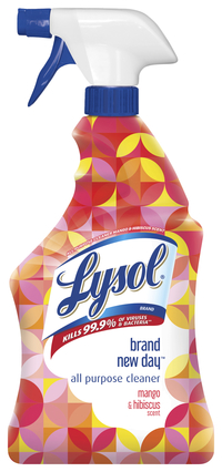 Image for Lysol All Purpose Cleaner, Brand New Day, Mango & Hibiscus, 32 ounces, Pack of 6 from SSIB2BStore